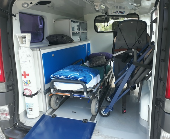 Transport of sick persons